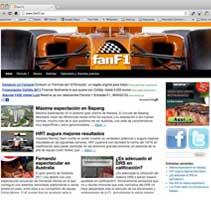 Fan F1. Un proyecto de Diseño, Desarrollo de software e Informática de Paco Puig Aparicio - Viernes, 08 de abril de 2011 21:10:01 +0200