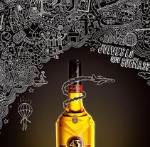 Licor 43. Um projeto de Design, Ilustração e Publicidade de Eduardo Bertone         - 17.01.2013