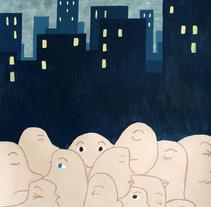 En la ciudad.... en muchos lugares.... A Illustration project by Helena Frías Peña - 04.29.2011