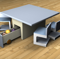 Proyecto muebles 3d. A Design, and 3D project by Maria Jose Nuñez Perez         - 10.05.2011