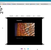 Diseño web Creepy. Un proyecto de Diseño, Publicidad e Informática de Creepy Beatriz M. Soto         - 24.05.2011