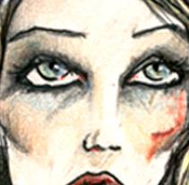 Serie La Carreta. A Illustration project by Gloria B. Urretavizcaya         - 27.05.2011