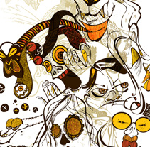 Sociedad. Um projeto de Design, Ilustração e Publicidade de Elvira Rojas         - 01.06.2011