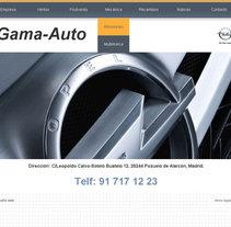 Gama Auto. Un proyecto de Desarrollo de software e Informática de Isabel Martín - Jueves, 02 de junio de 2011 12:13:52 +0200