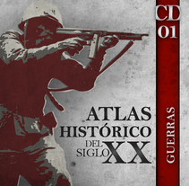 Atlas Histórico s XX (carátula). A Design, Illustration, and Advertising project by Alexander Lorente         - 03.06.2011