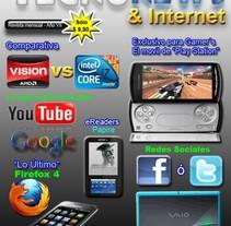 TecnoNews. Um projeto de Design, Ilustração, Publicidade e Fotografia de Damian Carlos Gerez         - 09.06.2011