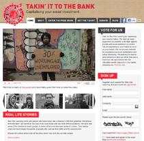 Takin' It To The Bank. Un proyecto de Diseño y Desarrollo de software de Caroline Elisa Haggerty         - 07.07.2011