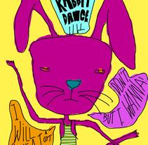 Dance rabbit dance. Um projeto de Design e Ilustração de Pablo Pighin         - 08.07.2011