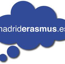 Identidad corporativa para madriderasmus.es. A Design&Illustration project by Marta García         - 10.07.2011