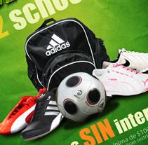 Mister Tennis - Publicidad promocional (Propuesta). Un proyecto de Diseño y Publicidad de Fernando Carvantes         - 13.07.2011