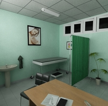 Hospital. A Design, and 3D project by Carlos Javier Fraga Méndez         - 22.07.2011