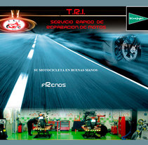 Sitio web de Trimotos. Un proyecto de Diseño, Ilustración, Publicidad, Música, Audio, Motion Graphics, Instalaciones, Desarrollo de software, Fotografía, Cine, vídeo, televisión, UI / UX, 3D e Informática de Diego Gavilán Martín         - 03.08.2011