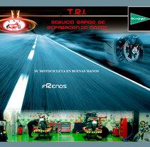 Sitio web de Trimotos. A Design, Illustration, Advertising, Music, Audio, Motion Graphics, Installations, Software Development, Photograph, Film, Video, TV, UI / UX, 3D&IT project by Diego Gavilán Martín         - 03.08.2011