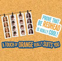 Aquarius Orange // Interactive Campaign. A Advertising project by Andrea Aguilar Jiménez - Aug 25 2011 11:45 AM
