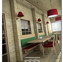 Russian Restaurant. A Design, and 3D project by Ramon Artime         - 01.09.2011
