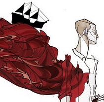 """""""El Otro Mundo del Vino"""". A Design, Illustration, and Advertising project by Javier Jubera García - 10.12.2011"""