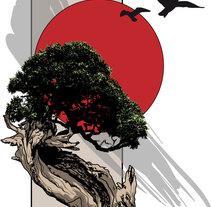 AMANECER ROJO. A Design&Illustration project by Daniel Rodriguez Morales         - 20.10.2011