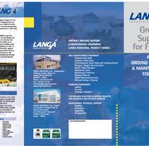 Triptico Langa Industrial. A  project by María del Amo         - 24.10.2011