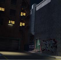 Callejón. Um projeto de Cinema, Vídeo e TV e 3D de Ruben  Muñoz Hernandez         - 24.10.2011