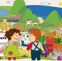 Cincàpats. Un proyecto de Ilustración de Mònica  Roca - 24-10-2011