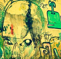 """MIRADA ESTATICA MURAL"". A Photograph project by federico kalbermatter         - 25.10.2011"