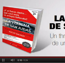 "Spot del libro ""La verbena de San Judas"". Um projeto de Motion Graphics de Héctor Gomis López         - 28.10.2011"