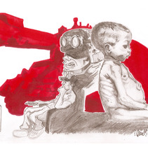 NO MORE WAR. A Illustration project by Yago Juez Deusto - 29-10-2011