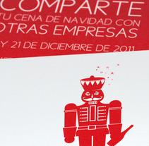 Cenas Navidad 2011. Un proyecto de Diseño y Publicidad de Lopa Gráfico         - 31.10.2011