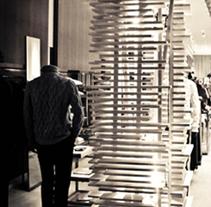 Hermes Tienda Desfile Madrid. Un proyecto de Diseño, Instalaciones y 3D de Michelle Felip Insua         - 02.11.2011