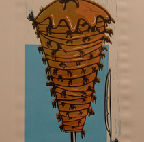 QUIERES COMER? kebab.. A Illustration project by Natxo Ramirez Garcia         - 08.11.2011