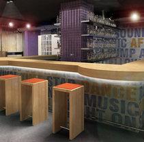 Infografía 3D Pub. Un proyecto de Diseño, Instalaciones y 3D de Luis Dedalo - 06-11-2011