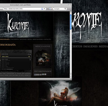 Karonte - website. A Design, Illustration, Music, Audio, Software Development, Photograph, and UI / UX project by Joaquín  Fernández Campuzano - Nov 12 2011 01:32 PM