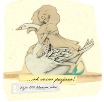 El cisne. A Illustration project by Daniel Camilo Vargas Barrios         - 15.11.2011