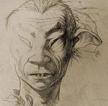 Fairies Sketchbook. Un proyecto de Ilustración de Manu Díez         - 01.12.2011