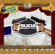 POLICIAS EN ACCION. Um projeto de Design, Motion Graphics e Cinema, Vídeo e TV de Ana Nuñez         - 02.12.2011
