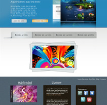 Sitio Web Gris. Um projeto de Design de Elizabeth Amaya         - 03.12.2011