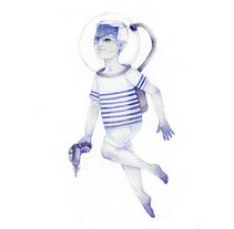Hey Sailor!. A Illustration project by Rafa Sánchez Gil         - 10.12.2011