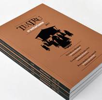 Teatru n'asturianu. A Design, Illustration, Editorial Design, and Graphic Design project by Think Diseño - 11-12-2011