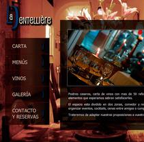La Dentellière Restaurante. Um projeto de Design, Desenvolvimento de software e Informática de Sílvia Clavera Ibáñez - 21-12-2011