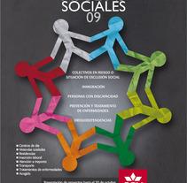 Campaña Ayudas Sociales CCM. Un proyecto de Diseño, Ilustración, Publicidad, Instalaciones y UI / UX de Báltico          - 29.12.2011