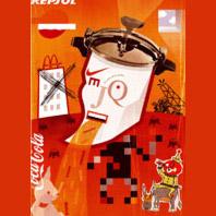 Quijote apocalíptico. Un proyecto de Diseño e Ilustración de Báltico         - 29.12.2011