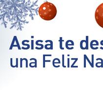 banner navidad asisa. Um projeto de Design de Gupo         - 29.12.2011
