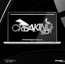 Logotipo: Creaking Tech. A Design project by KikeNS         - 05.01.2012