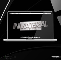 Logotipo: Inmaterial Audio. A Design project by KikeNS         - 05.01.2012