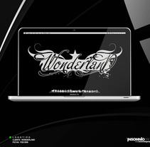 Logotipo: Wonderland. Um projeto de Design de KikeNS         - 05.01.2012