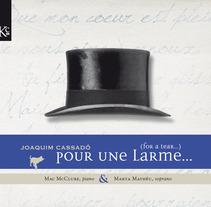Pour une larme. Un proyecto de Diseño, Ilustración, Música y Audio de Sergi Grañén         - 05.01.2012