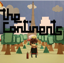 The Continents. A Design, Illustration, Motion Graphics, Film, Video, and TV project by Omar Lopez Sanchez         - 09.01.2012