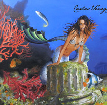 Sirena. A Design&Illustration project by Carlos Venegas Parra         - 10.01.2012