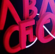 Cabaret font. A Design, Motion Graphics, Film, Video, TV, and 3D project by Pau Ju - 10-02-2012
