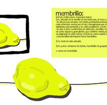 Uno y tres membrillos. Un proyecto de Ilustración de Alba Rincón - 15-02-2012